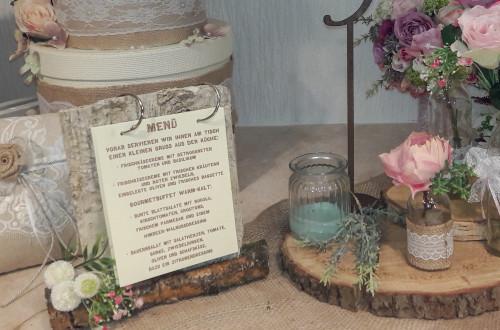 Menükarte für Vintagehochzeit 500x330 - Ideen Fee - Hochzeitsmanufaktur